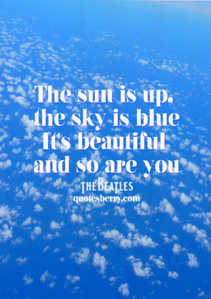 ... tags for this image include: typography, blue, love, quotes and sky
