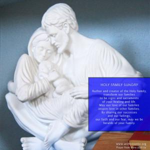 Prayer on Holy Family Sunday