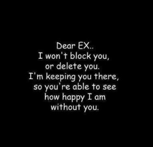 ex gf quotes dear ex in facebook ex gf quotes dear ex