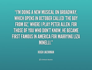 Broadway Musical Quotes Preview quote