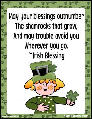 Sharing Irish Blessings (from the NET)