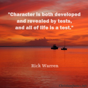 Photo Gallery of the Rick Warren Quotes for Life
