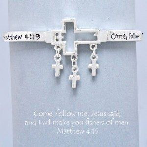 ... Verse, Matthew 4:19. Size : 1 1/4