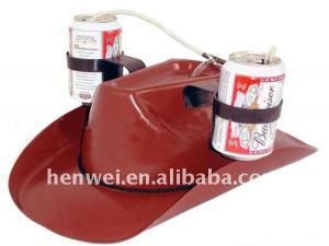 Funny Cowboy Party Drinking Beer Hat