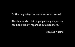 outer space quotes douglas adams the hitchhikers guide to the galaxy ...
