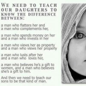 Teach Your Daughter This!