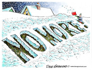 no more snow dave granlund dave granlund cartoon on too much snow ...