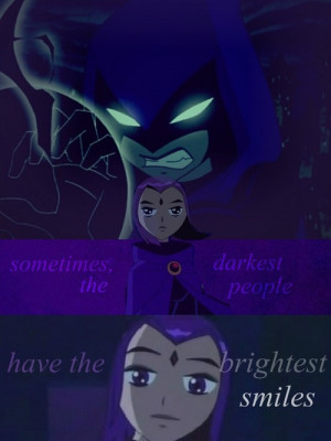 ... raven. our hero and friend.A Teen TitanHappy Azarath Mentrion Zincos