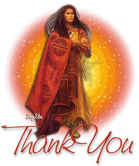 Native American Thank You