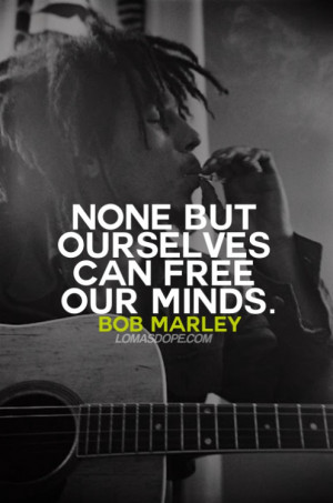 bob marley picture quotes