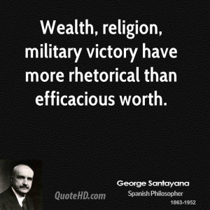 Wealth, religion, military victory have more rhetorical than ...