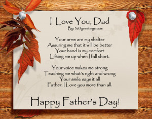 father day poems from daughter about poems for dad