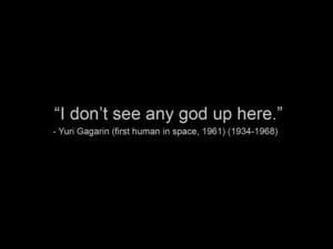 Don't See Any God