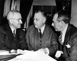 ... Warren R. Austin a few days after the announcement.: Presidents, Dean