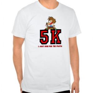 Funny 5K running T-shirts