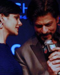 Mandira Bedi and Shah Rukh Khan at TAG Heuer 50 Years Celebrations