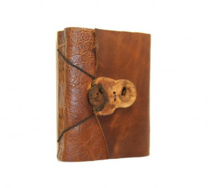 Charles Dickens . David Copperfield quote . handbound leather journal ...