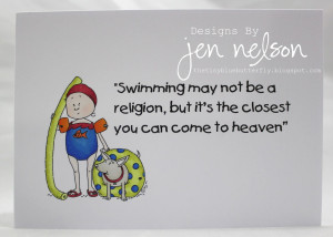 Swimming Quotes HD Wallpaper 7