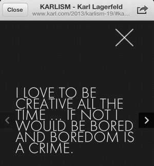 Karlism - Karl Lagerfeld