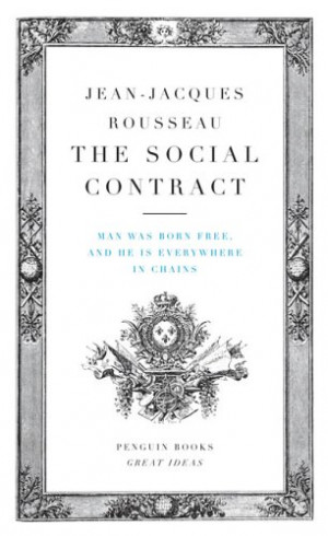 Jean Jacques Rousseau Social Contract Theory