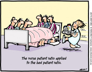 ... 663 24Oct07 The nurse patient ratio applied to the bed patient ratio
