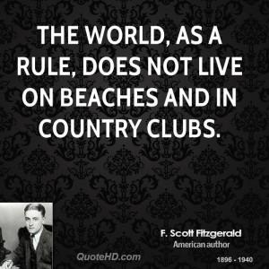 Famous F Scott Fitzgerald Quotes