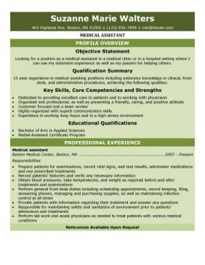 Medical Assistant Resume Guide