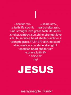 jesus, love, pink, quote