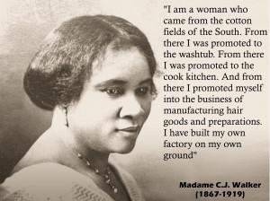 Madame C.J. Walker (1867-1919)