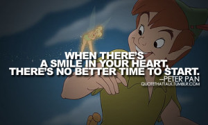 peter pan quotes on Tumblr