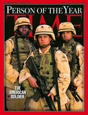 Time Magazine Selects American Soldier as Person of the Year