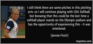 Softball Pitching Quotes And Sayings