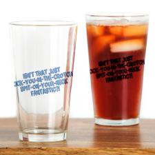 Rachel Green Quote Drinking Glass for