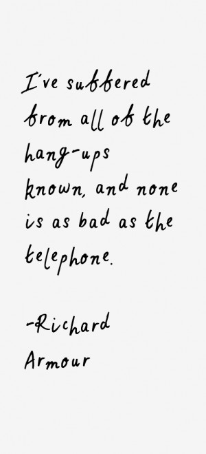 Richard Armour Quotes & Sayings