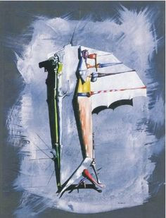 Yves Tanguy - 1947 - Elle fut douce More