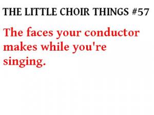 ... Pictures filed under choir chorus joke singing profile alto altos