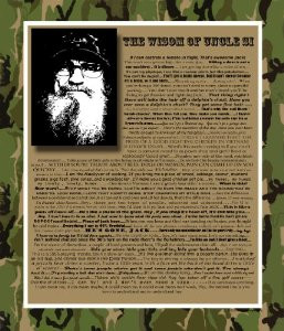 famous uncle si quotes uncle si duck dynasty hey jack t shirt bookmark ...