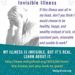 Invisible Illness Quotes Invisible illness