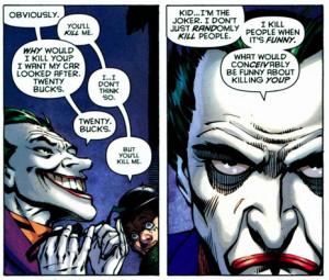 Speaking of the Joker, everyone's favorite Villainous Harlequin Canon ...
