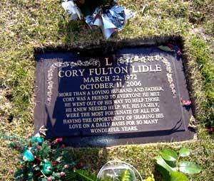 Cory Lidle Grave