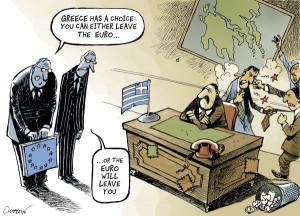 Cartoon by Patrick Chappatte - International Herald Tribune