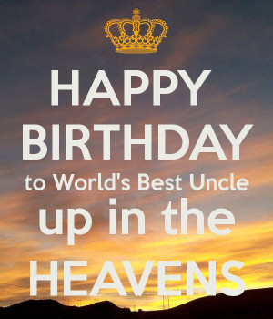 Funnies pictures about Happy Birthday Uncle in Heaven