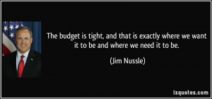 Quotes by Jim Nussle