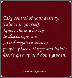 ... Don't give up and don't give in.~Wanda Hope Carter Source: http://www