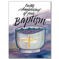 baptismal anniversary baptism anniversary card $ 1 49