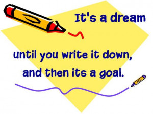 Study Skills: Student's guide to goal setting