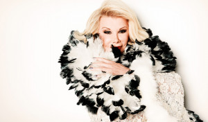 comedian, TV personality and all round funny woman Joan Rivers ...