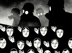Picspam animation punk Iran persepolis Marjane Satrapi punk is not ...