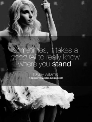 Hayley Williams Quotes On Life #hayley williams blonde