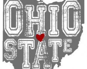 Ohio State; Buckeye print; Digital file; Ohio State sign ...